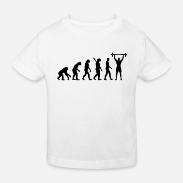 Evolution GYMNASTICS EVOLUTION! - Kids' Organic T-Shirt