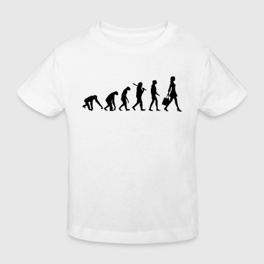 WOMEN EVOLUTION - Kids' Organic T-shirt