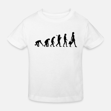 Evolution WOMEN EVOLUTION - Kids' Organic T-Shirt