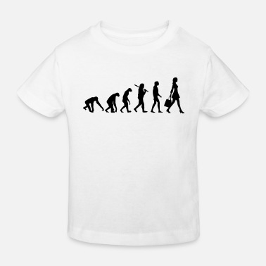 Girl WOMEN EVOLUTION - Kids' Organic T-Shirt
