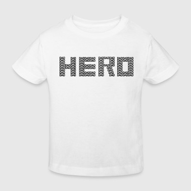Dad hero father hero parents father's day - Kids' Organic T-Shirt