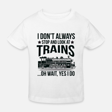 Railway Funny Gift - Miniatur Railway Train - Kinder Bio T-Shirt