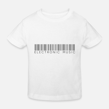 Style Of Music Electro Music Style Electronic Music Gift - Kids' Organic T-Shirt