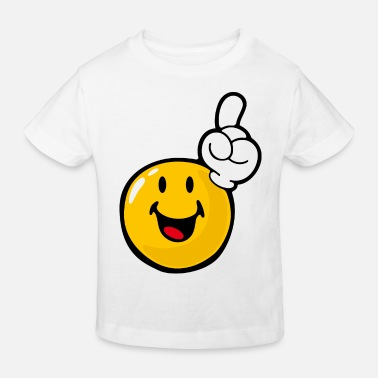 Eagerness Smiley Eager - Kids' Organic T-Shirt