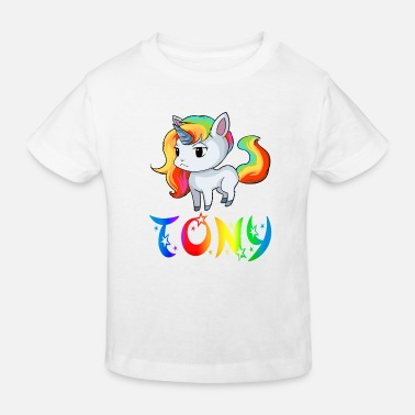 Tony Einhorn Tony - Kinder Bio T-Shirt
