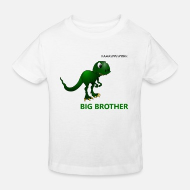 Little Brother Big Brother - Dino - Kids' Organic T-Shirt