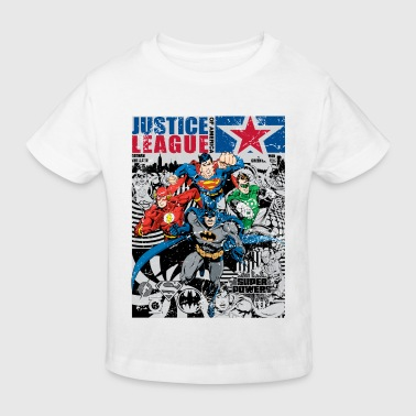 Justice League Comic Cover - Kinder Bio-T-Shirt