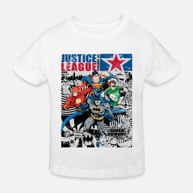 Comic Justice League Comic Cover - Kinder Bio T-Shirt