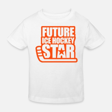 Spreadshirt Hockey sur Glace Future Star Pull /à Capuche Premium Enfant