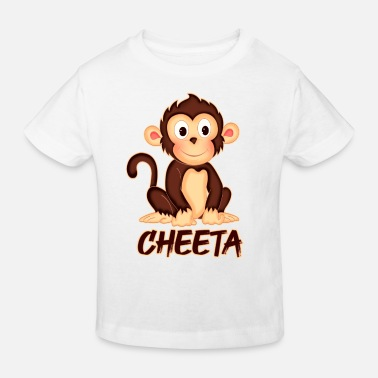 Bild Affe Cheeta - Kinder Bio T-Shirt