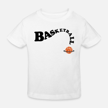 Basket basketbal  basket - Kinderen Bio-T-shirt
