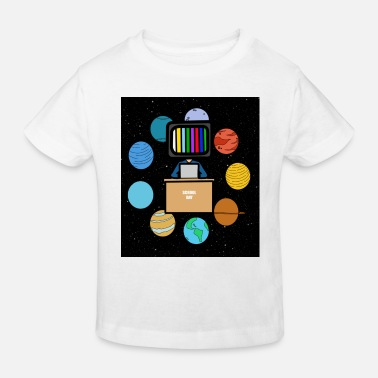 Space student schoolcontest - Kinderen bio T-shirt
