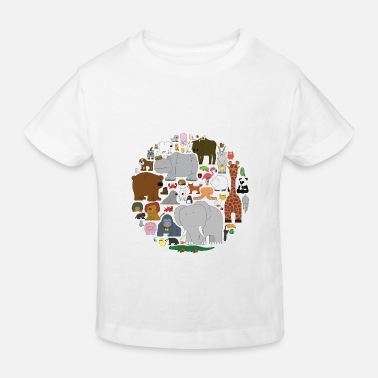 Kingdom The Animal Kingdom - Kids' Organic T-Shirt