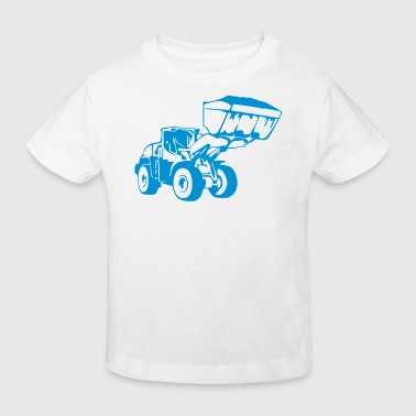 Radlader, Wheel Loader (1 color) - Kids' Organic T-Shirt