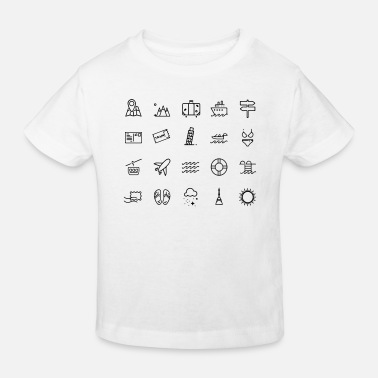 Icon Icons - Kids' Organic T-Shirt