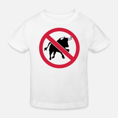 Prohibition bull - Kids' Organic T-Shirt