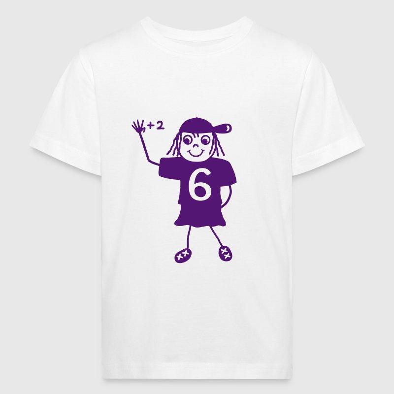 Schulkind Mädchen 6 Jahre - V von Te-Shirts | Spreadshirt
