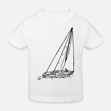 sailboat1 - Kinder Bio T-Shirt