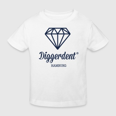 Diggerdent Hamburg diamond - Kids' Organic T-Shirt