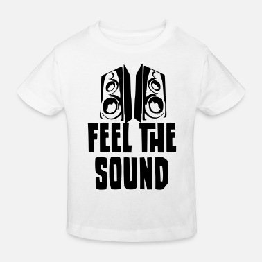 Dj Feel the Sound - T-shirt bio Enfant