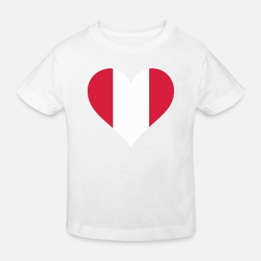 Lake Titicaca A Heart for Peru - Kids' Organic T-Shirt