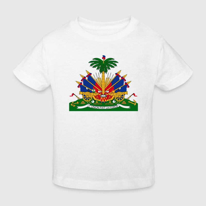 Armoiries nationales d Haïti - T-shirt bio Enfant