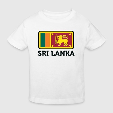Nationalflagge von Sri Lanka - Kinder Bio-T-Shirt