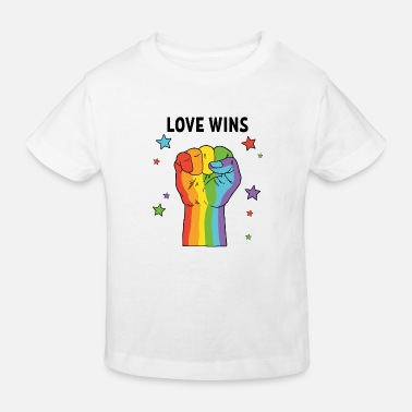 Revolution Love Wins Faust Revolution Pride Month lgbt - Kinder Bio T-Shirt
