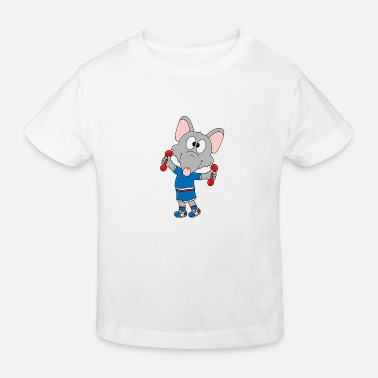 Mood Funny rat - advice - fitness - sport - animal - Kids' Organic T-Shirt