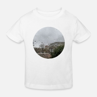 Regenen Rain on My Window / Pictures of My Life - Kinderen bio T-shirt