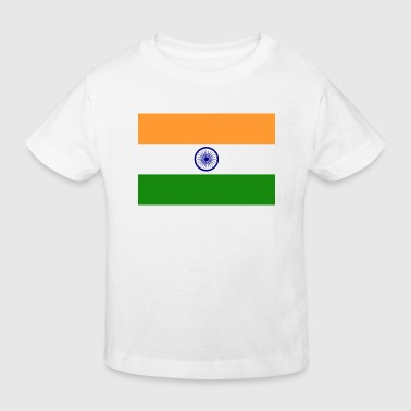 National Flag of India - Kids' Organic T-shirt