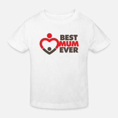 Worlds World s Best Mom! - Kinderen Bio-T-shirt