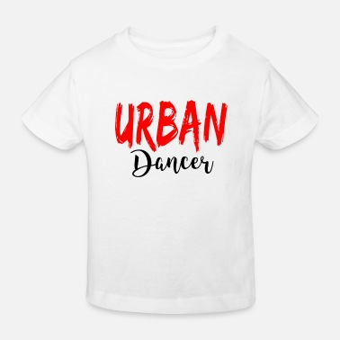 Urban Urban Dancer - Urban Dance Shirt - Kinderen bio T-shirt