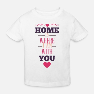 Delivery Valentines day tshirt gift for her or him. - Kids' Organic T-Shirt