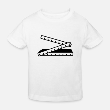 Fold Folding rule - Kids' Organic T-Shirt