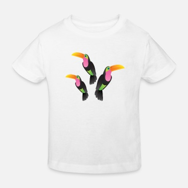 Illustration Toucan Illustration - T-shirt bio Enfant