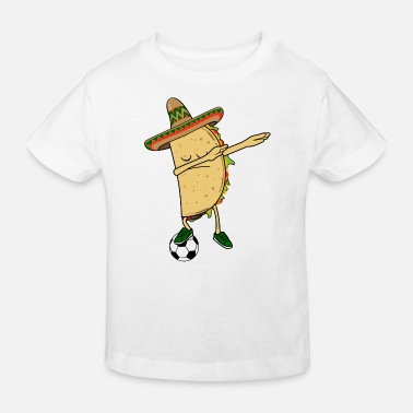 Mexico Mexican American Mexico soccer soccer Taco football DAB dance - Kids' Organic T-Shirt
