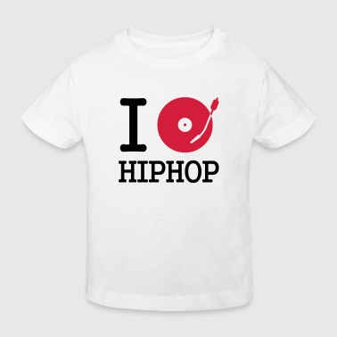 i dj / play / listen to hiphop - T-shirt bio Enfant