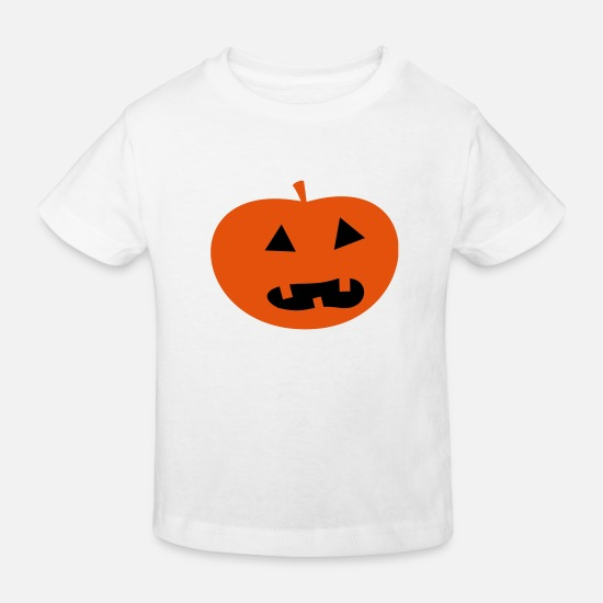 Halloween Vêtements Bébé - Halloween Pumpkin - T-shirt bio Enfant blanc