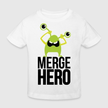 Monster Merge Hero - Kids' Organic T-shirt
