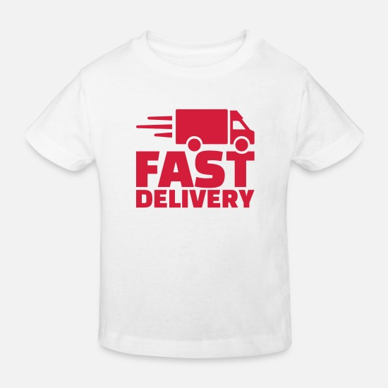 Symbol  Baby Clothes - Fast delivery - Kids' Organic T-Shirt white