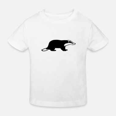 Badgers Badger - Kids' Organic T-Shirt