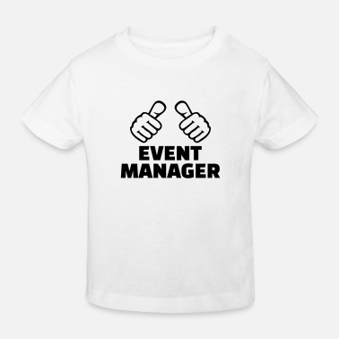 Manager Event Manager - Lasten luomu t-paita