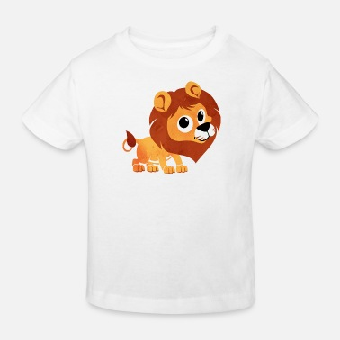 Lion Aquarelle lion - enfants - bébé - animal - bébé - enfant - T-shirt bio Enfant