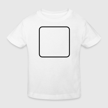 Math symbol - square - Kids' Organic T-Shirt