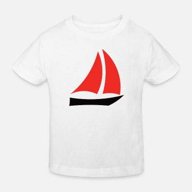 Sailboat sailboat - Kids' Organic T-Shirt