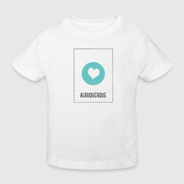 I Love Albuquerque - T-shirt bio Enfant