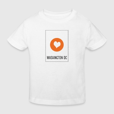 I Love Washington DC - Camiseta ecológica niño