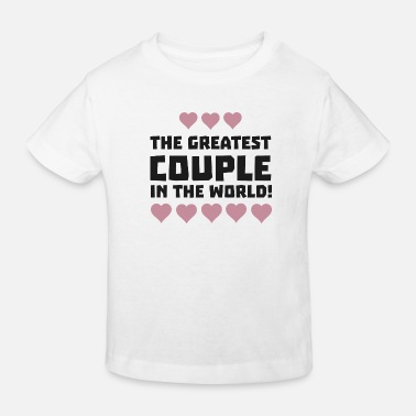 Lo Love Couple Greatest Couple Love Sg5qi - Camiseta ecológica niño