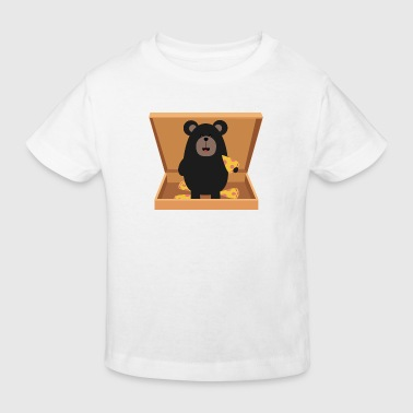 Grizzly in Pizzabox - Camiseta ecológica niño